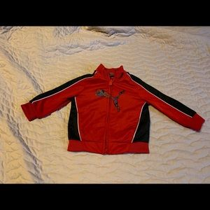 Pima Red and Black Athletic Jacket